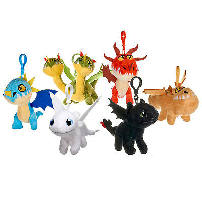 How To Train Your Dragon: The Hidden World Small Plush Clips *CHOOSE YOUR DRAGON