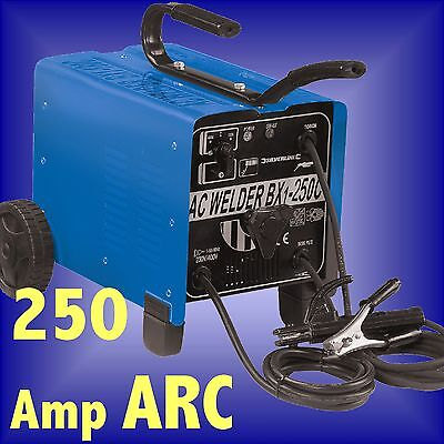 250 AMP ARC WELDER FAN COOLED stick rod 250amp