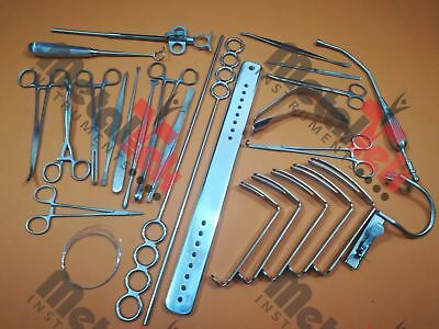 Tonsillectomy Set of 27 Pieces ENT Surgical Instruments Good Quality BY MTI