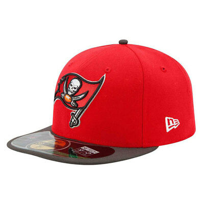 Tampa Bay Buccaneers New Era NFL OnField 59FIFTY Fitted Cap - Size 7 1/2