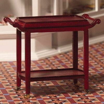 1/12 Scale Dolls House Emporium two-tiered Serving Trolley 4205