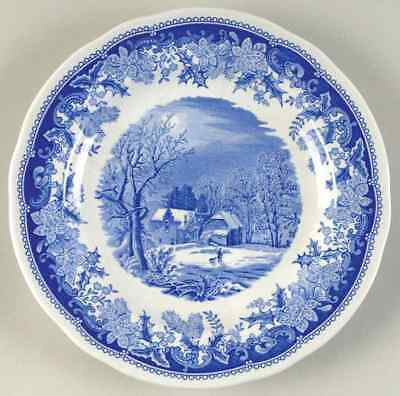 Spode WINTER'S EVE BLUE Salad Plate 3640326