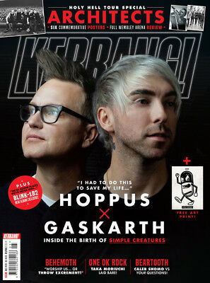Kerrang! Magazine 2 February 2019 - Simple Creatures, Architects, Art Print+++
