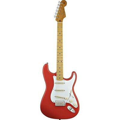 Fender Classic Series 50s Stratocaster Maple Fretboard Fiesta Red w/Deluxe Bag