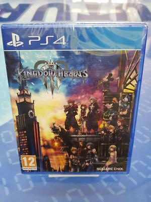 KINGDOM HEARTS III 3 - GIOCO Playstation 4 PS4 NUOVO SIGILLATO