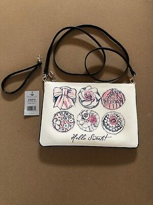 NWT Brighton LUXMOORE FLAP POUCH My Flat In London Organizer Croos Body MSRP$150