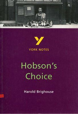 """(Good)-York Notes on Harold Brighouse's """"Hobson's Choice"""" (Paperback)-Brian Dyke"""