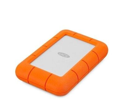 Lacie 5TB Rugged USB 3.0 USB-C Portable Hard Drive STFR5000800