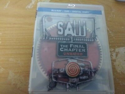 Saw The Final Chapter Unrated 2 Disc Edition Horror Suspense Bluray Dvd Twisted
