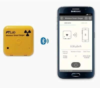 SMART WIRELESS GEIGER COUNTER RADIATION METER iOS ANDROID SMARTPHONE SMW