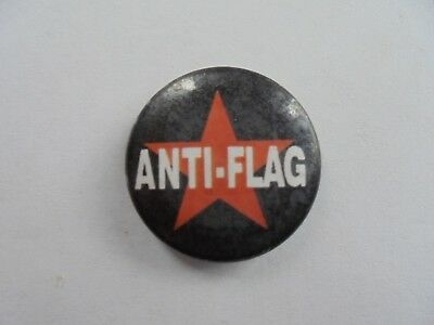 Cool Anti-Flag American Punk Rock Band Promo Souvenir Pinback Button