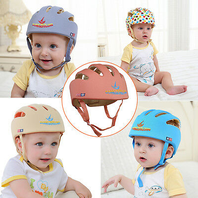 Baby Toddler Safety Headguard Warm Gear Cap Harnesses Hats Protect Helmet Guard