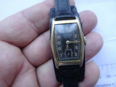 Old VINTAGE GERMAN WATCH JUNGHANS  15  JEWELS  1950 WOMAN AU 20 1930