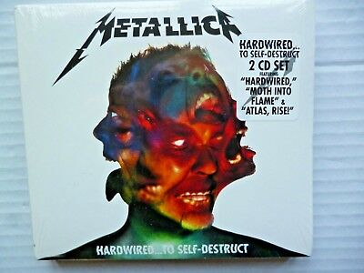 METALLICA  - Hardwired...To Self-Destruct - Metallica CD - new and sealed 2cd