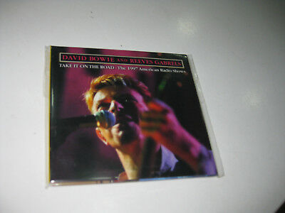 David Bowie & Reeves Gabrels Cd Take It On The Road The 1997 American Radio Show