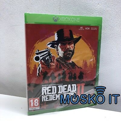 Red Dead Redemption 2 II XBOX ONE NEW EDITION 2018 SEALED