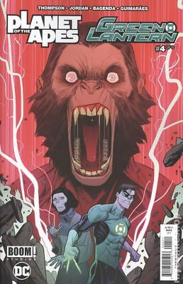 Planet of the Apes Green Lantern #4A 2017 NM Stock Image