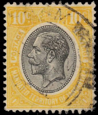 "TANGANYIKA 30i (SG94i) - King George V ""Keyplate""  Lemon Yellow (pa84016)"