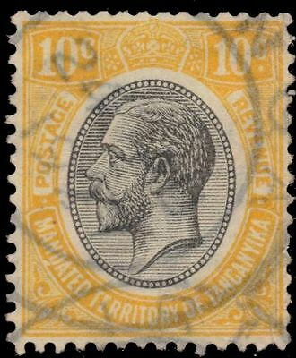 "TANGANYIKA 30 (SG94) - King George V ""Keyplate"" Yellow  (pa84014)"