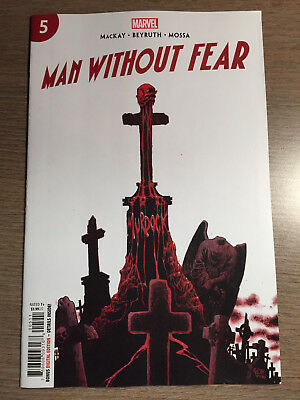 MAN WITHOUT FEAR #5 (of 5) - REGULAR COVER - 1ST PRINT - MARVEL (2019) DAREDEVIL