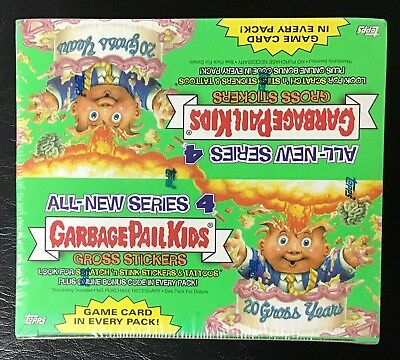 2005 Topps Garbage Pail Kids All-New Series 4 ANS4 Unopened Box