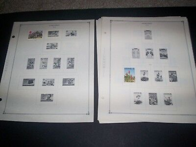 LESOTHO Nice Lot of Stamps on Scott Album Pages ~  VALUE
