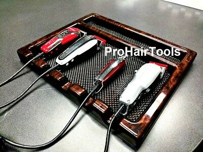Barber Tray BT-5 In AFRICAN BURL Professional Barber Tray+ Free Shipping!