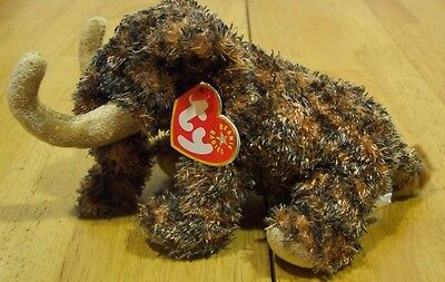 TY Beanie Babies GIGANTO WOOLY MAMMOTH Plush Toy NEW