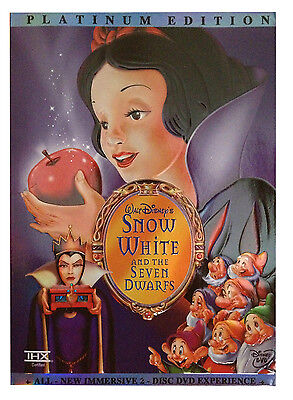 Snow White and the Seven Dwarfs (DVD, 2001, 2-Disc Set, Special Edition) NEW!