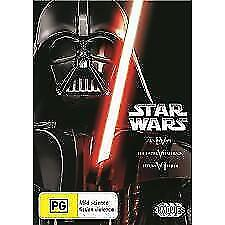 Star Wars Trilogy - A New Hope / Empire Strikes Back / Return Of The Jedi (DVD,