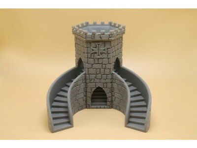 3-path Dice Tower Dungeons & Dragons DnD