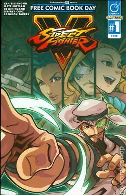 Street Fighter (Udon Comics) Free Comic Book Day #1 2016 FN Stock Image