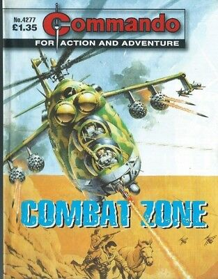 Combat Zone,commando For Action And Adventure,4277,war Comic,2010