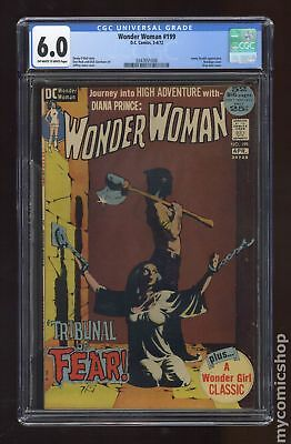 Wonder Woman (1st Series DC) #199 1972 CGC 6.0 0347651008