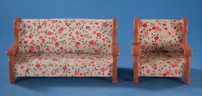 Vtg Maple Town Story Bandai Sofa & Chair Dollhouse 1986 Couch Toei Animation