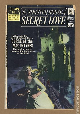 Sinister House of Secret Love #1 1971 VG- 3.5