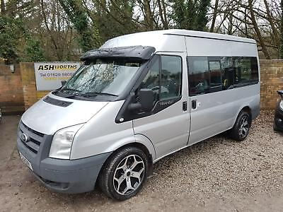2011 Ford Transit 2.2TDCi Duratorq 115PS 300M Med Roof Shuttle 300 MWB