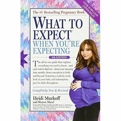 What to Expect When You're Expecting - Paperback NEW Heidi Murkoff 31/05/2016