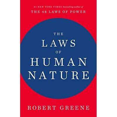The Laws of Human Nature - Hardcover NEW Greene, Profess 23/10/2018