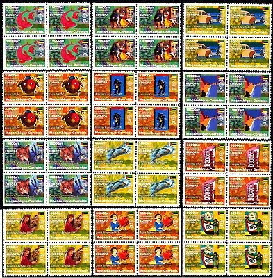 EUROPA CEPT - 2006 - Mozambique - 12.Complete set of Block of 4 (perf.) ** MNH