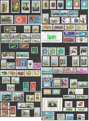 Turkish Cyprus - 1974  between 2014 -  Complete Collection of 41 Years ** MNH