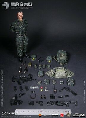 Panama Boots - 1//6 Scale Damtoys Figures Chinese PLA Special Forces for Feet