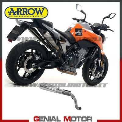 2 Tubos De Escape Arrow Pro Race Titanio Ktm 790 Duke 2018 > 2019