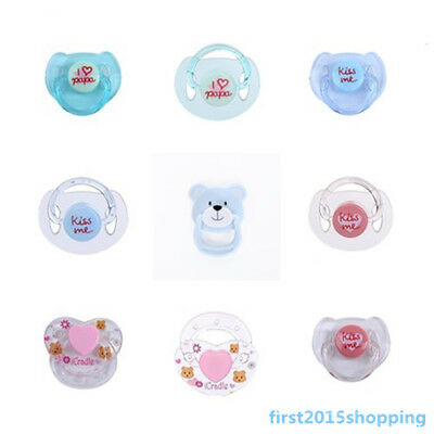 Baby Dolls Magnetic Pacifier Reborn Doll Supplies Magnet Dummy for Lifelike Toys