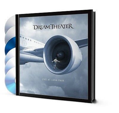 DREAM THEATER - LIVE AT LUNA PARK - 6 DISC DELUXE  2 DVD +1 BluRay + BOOK + 3 CD
