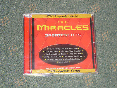 """The Miracles """"Greatest Hits"""" [Smokey Robinson] [Motown] Brand New Sealed CD."""