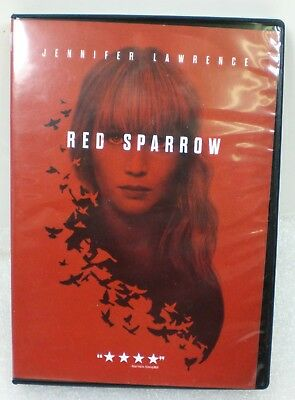 Red Sparrow NEW DVD 2018  FREE Shipping! Jennifer Lawrence