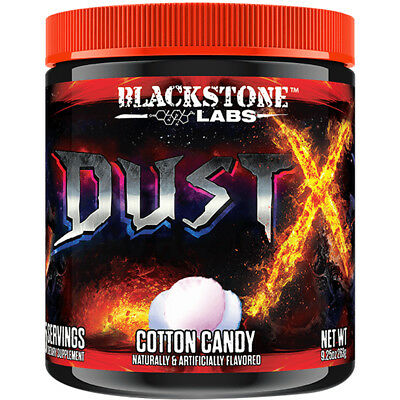 Blackstone Labs Dust X DMHA Energy Supplement - 25 Servings - Cotton Candy
