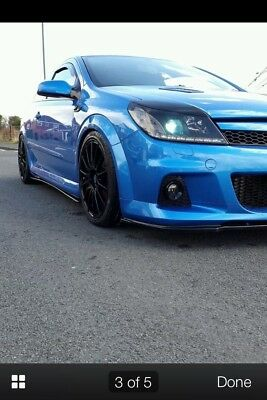 Astra H Vxr Front Splitter And Side Package