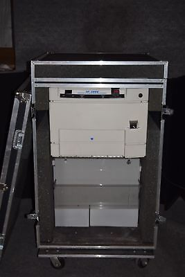 FUJIFILM FP 2000 AUTOMATIC X-RAY FILM PROCESSOR in ROLLING CALZONE CASE  (#1959)